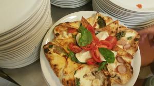 Pizza a stella quattro stagioni